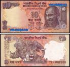 Índia IND10(2016)d - 10 RUPEES 2016