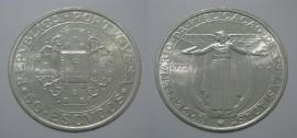 379t KM#602 Portugal - 50 Escudos 1972 Lusíadas (Prata)