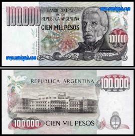 Argentina ARG100000(1979-83ND)a - 100000 PESOS 1979-83ND