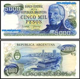 Argentina ARG5000(1977-83ND)d - 5000 PESOS 1977-83ND 1977-83ND