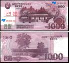 Coreia do Norte PRK1000(2008) - 1000 WON 2008 (ESPÉCIMEN)