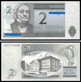 Estónia EST2(2006)h - 2 KROONI 2006