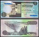 LIBIA LBY1/2(1991ND)a - 1/2 DINAR 1991ND