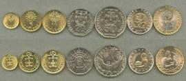 Portugal Colecção ESCUDOS moedas correntes 2001