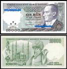 Turquia TUR10000a(1989)a - 10000 LIRA (1989ND)